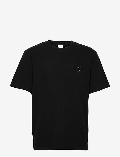 Lux Tee Black - basic t-shirts - black