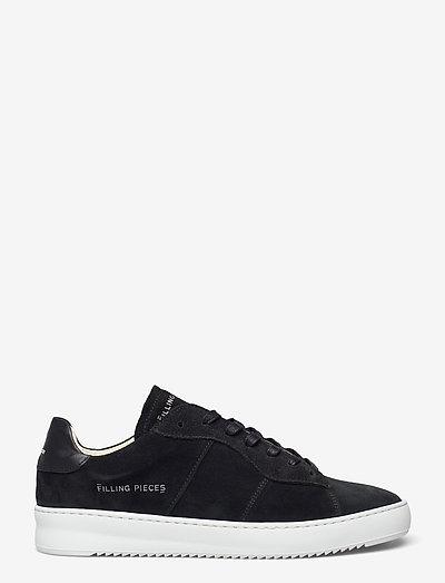Court Ripple Suede - låga sneakers - black