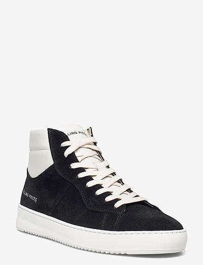 Mid Court Suede - hoog sneakers - black