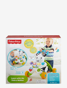 Fisher-Price Learn with Me Zebra Walker - baby toys - multi color