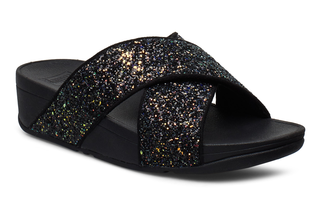 FitFlop Lulu S Glitter - ALL BLACK