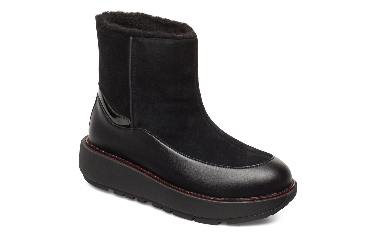 FitFlop Elin Snuggle Boot - ALL BLACK