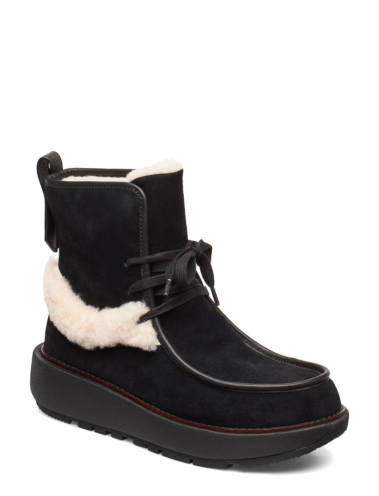 Image of Greta Moccassin Boot Shoes Boots Ankle Boots Ankle Boots Flat Heel Sort FitFlop (3250586865)