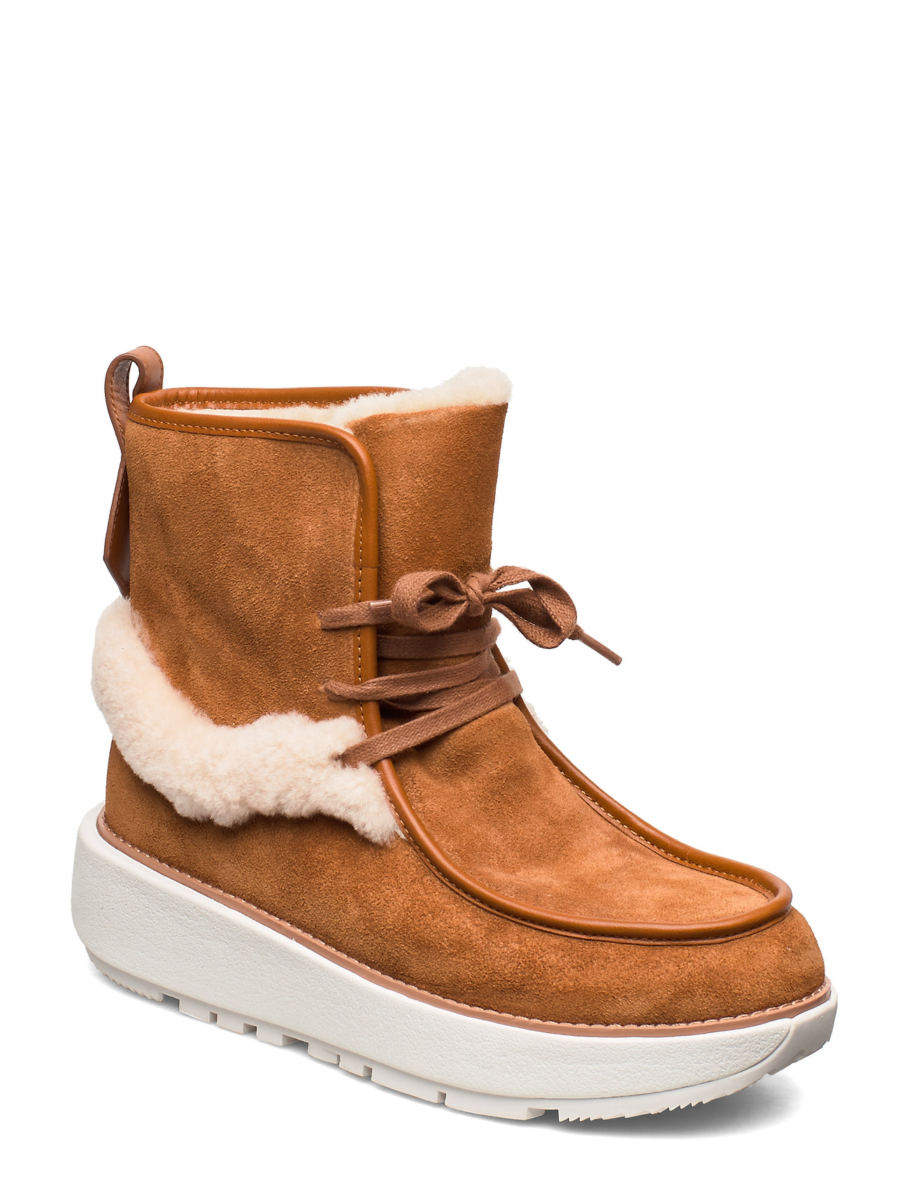 Image of Greta Moccassin Boot Shoes Boots Ankle Boots Ankle Boots Flat Heel Brun FitFlop (3250586867)