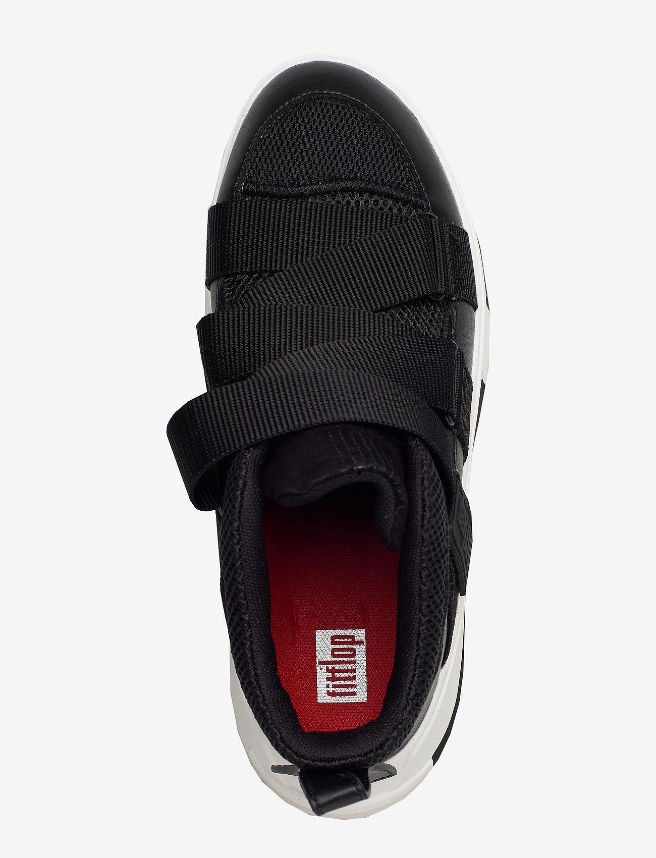 Andrea Adjustable Sneakers (Black Mix) - FitFlop