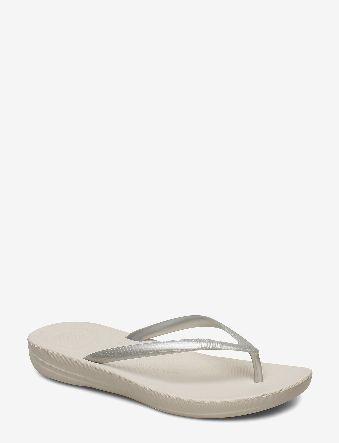 FitFlop - IQUSHION ERGONOMIC FLIP-FLOPS - teenslippers - silver - 0