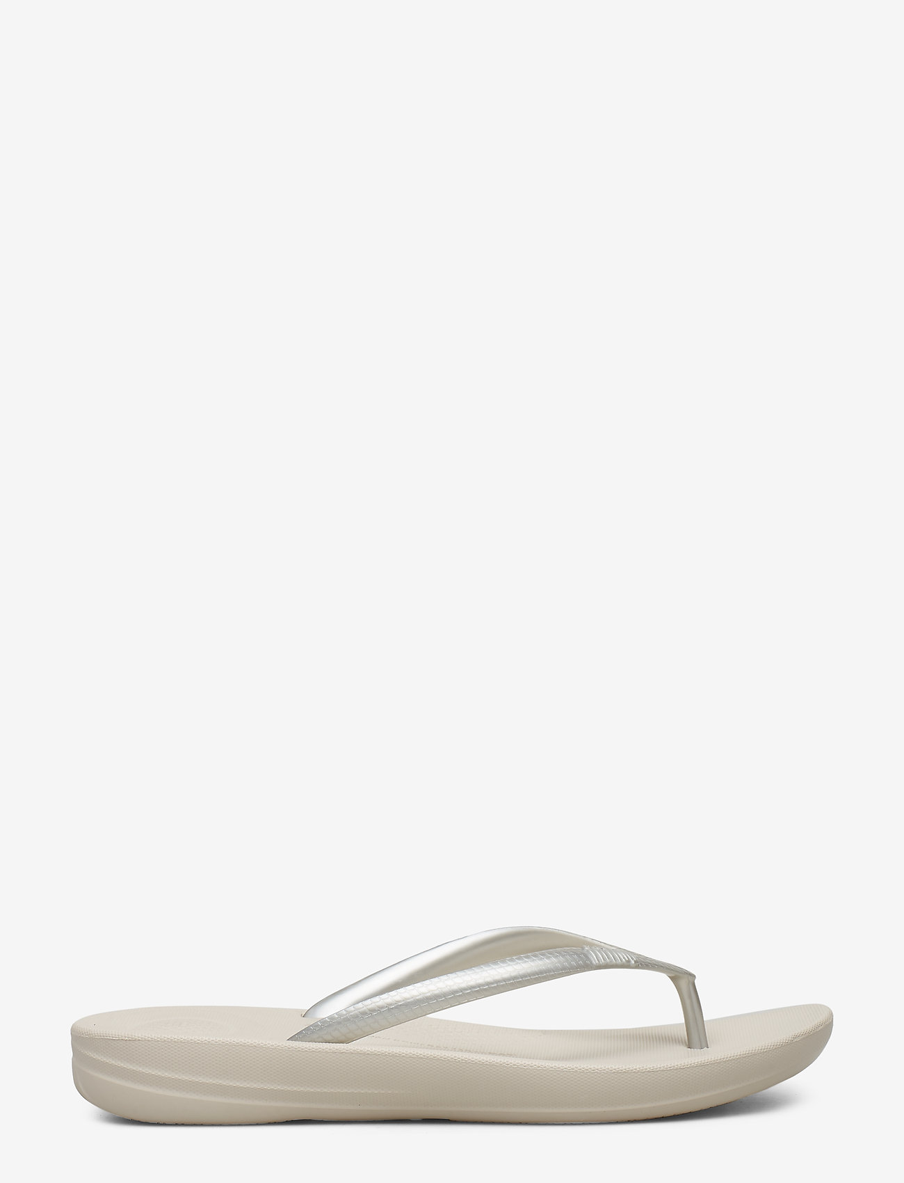 FitFlop - IQUSHION ERGONOMIC FLIP-FLOPS - teenslippers - silver - 1
