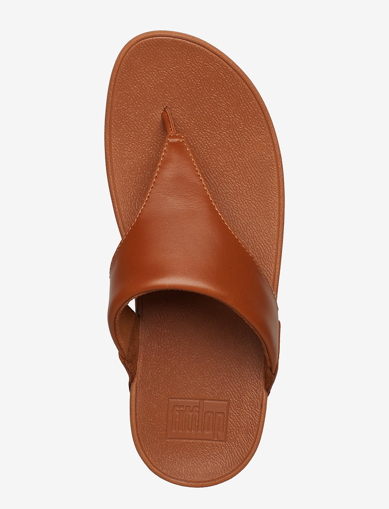 Lulu Leather Toepost (Light Tan) - FitFlop