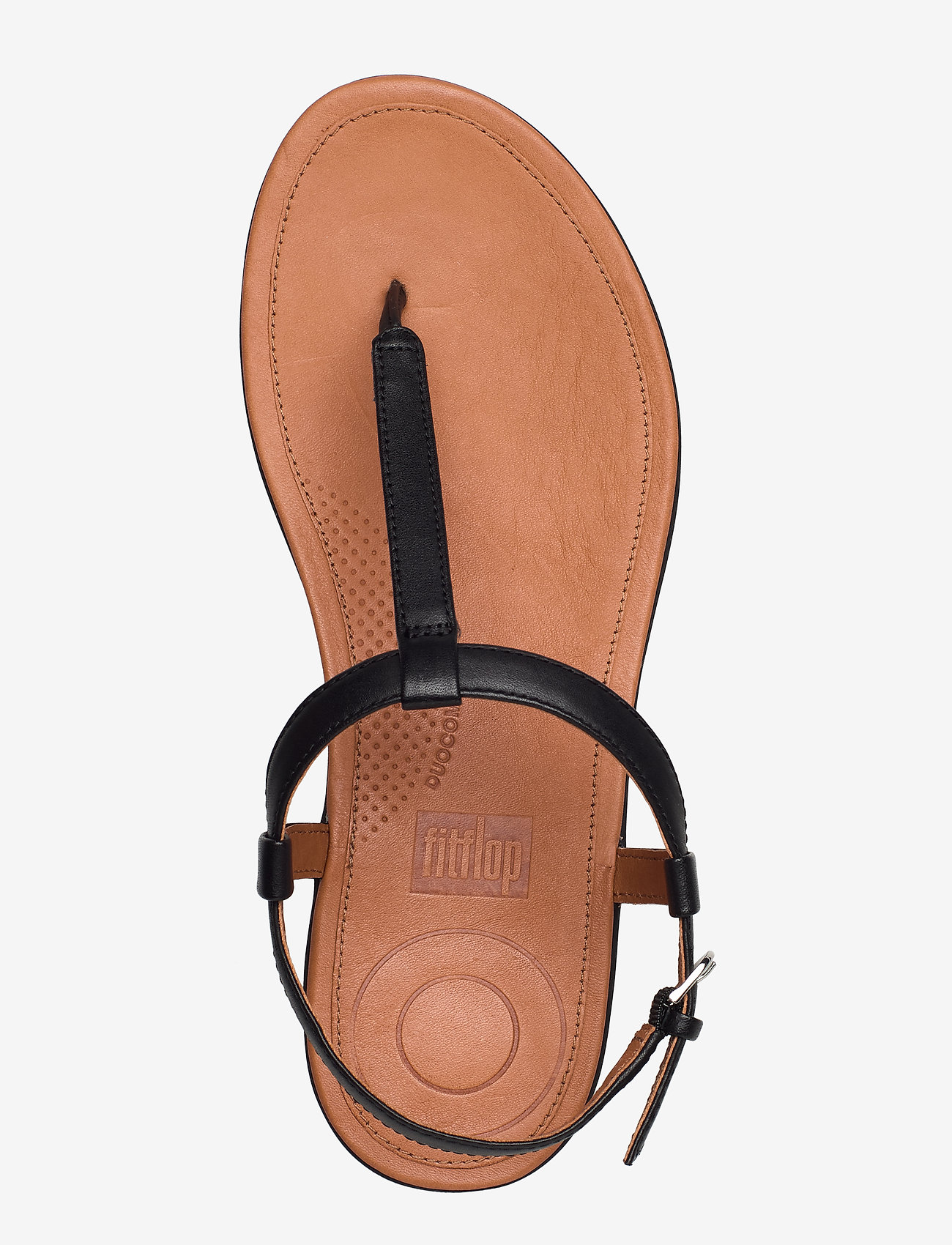 Fitflop Tia Toe-thong Sandals - Leather Sandaler Black