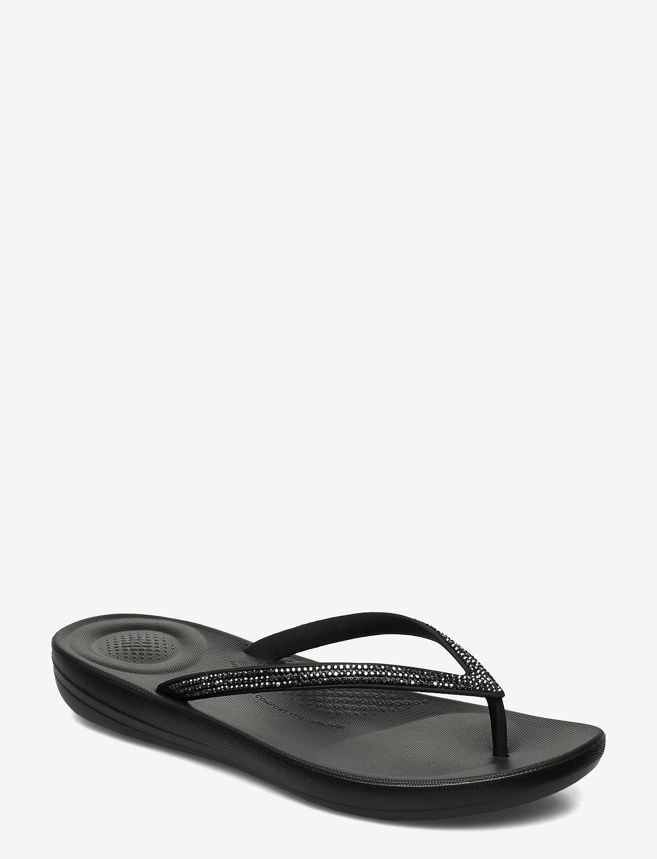 FitFlop - IQUSHION SPARKLE - teenslippers - black - 0