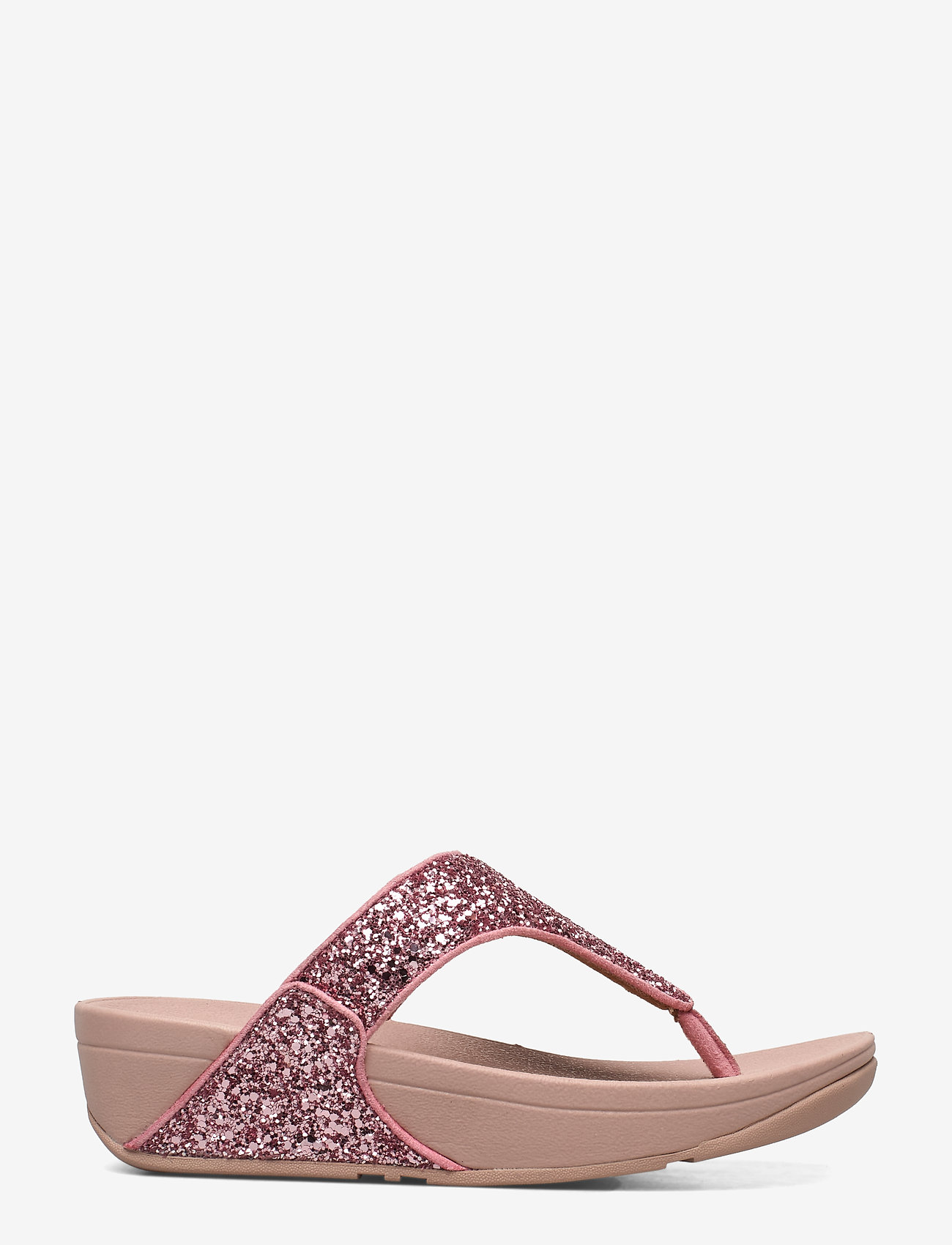 Fitflop Lulu Glitter Toe-thongs - Sandaler Rose
