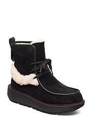 Greta Moccassin Boot - ALL BLACK