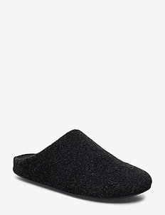 Felt Chrissie Slipper - BLACK