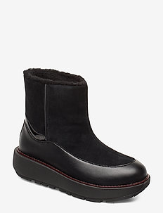 Elin Snuggle Boot - ALL BLACK