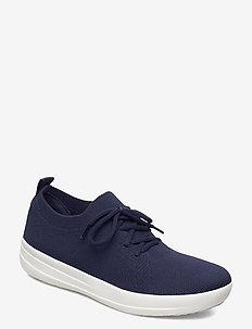 F-SPORTY UBERKNIT SNEAKERS - lage sneakers - midnight navy