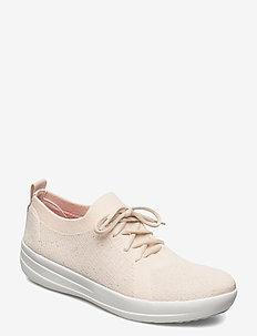 F-SPORTY UBERKNIT SNEAKERS - lage sneakers - stone