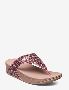 Lulu Glitter Toe Thong Sandals