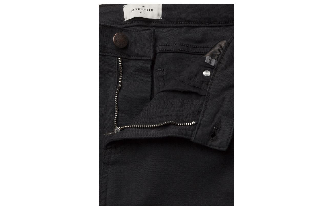 Jeans Polyester 78 Black Lyocell 15 Coton Elastane 5 Black Lou Crop Boston 2 Fiveunits 545 x7R0SqXT