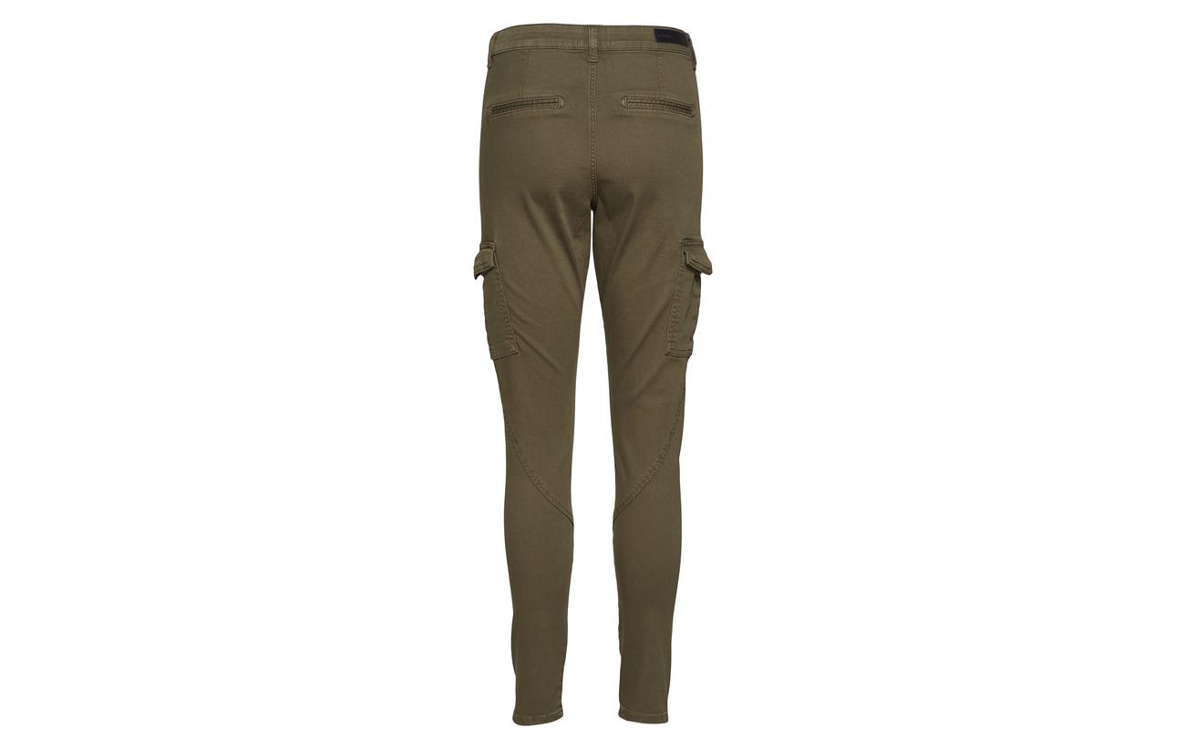 Cargo Coton Pants 6 3 Angle Angle Jolie Fiveunits Elastane 91 202 Army Polyester qgEn4wRWa