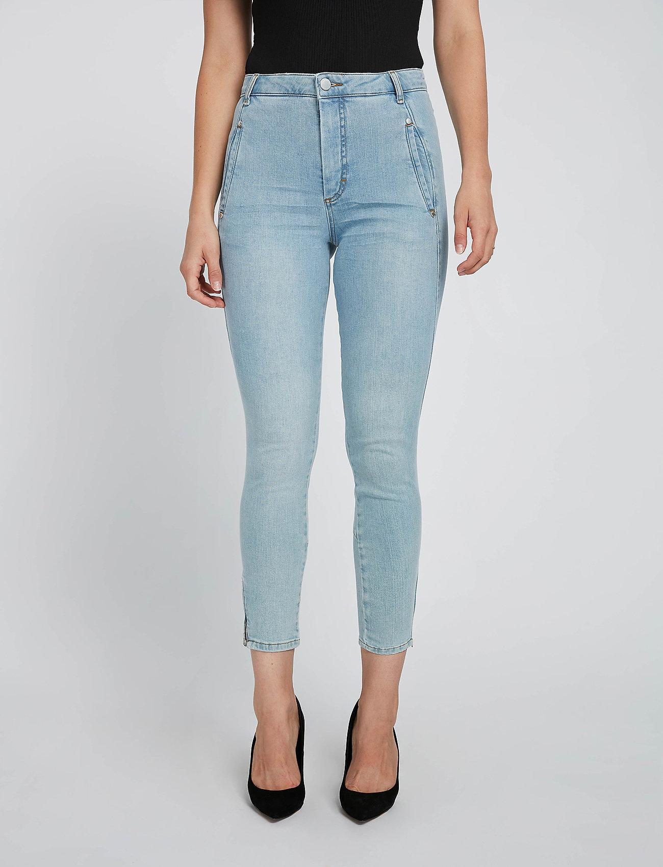 FIVEUNITS - Jolie Zip 241 - slim jeans - chalk blue - 0