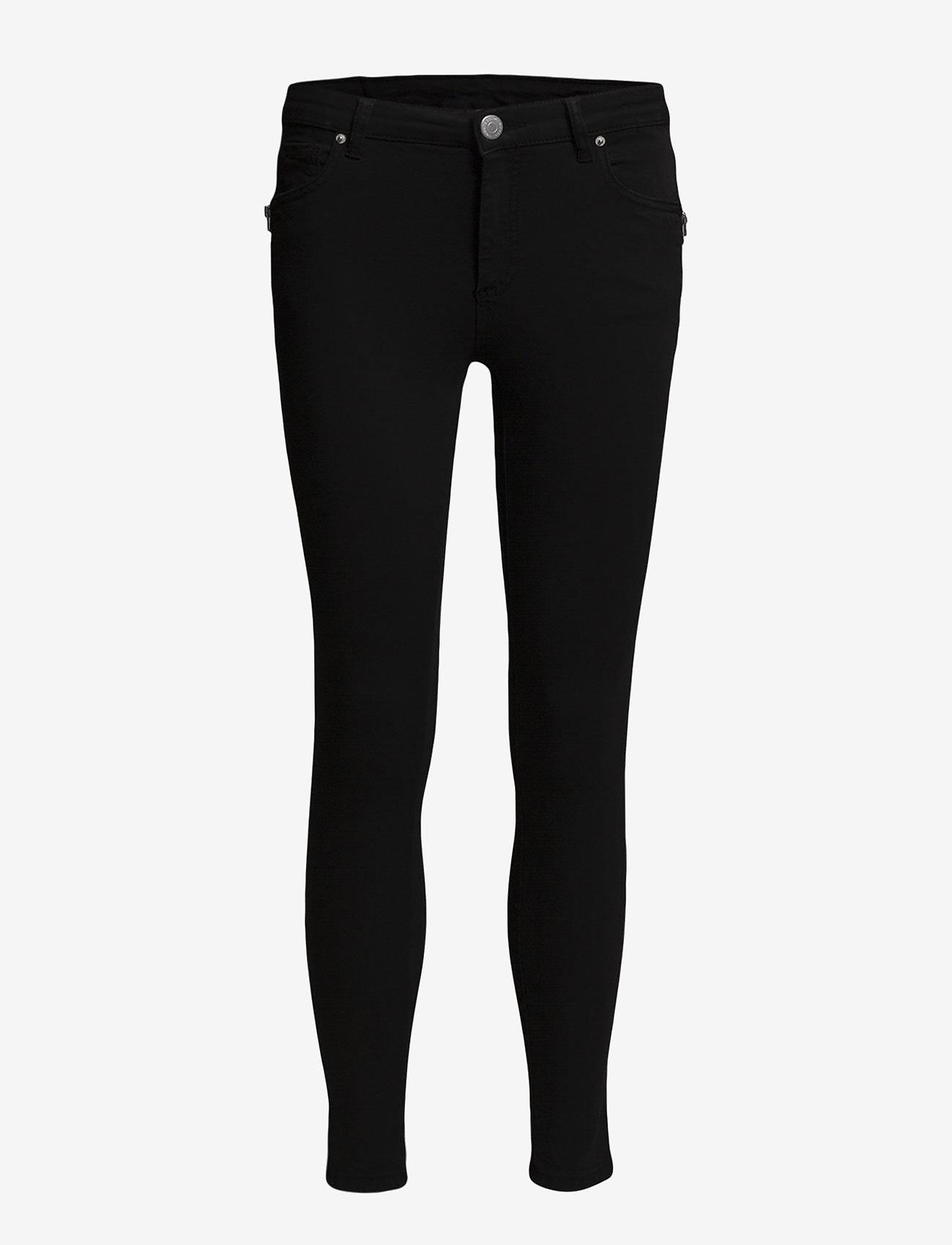 FIVEUNITS - Penelope 266 Zip, Black Line, Jeans - skinny farkut - black line - 1