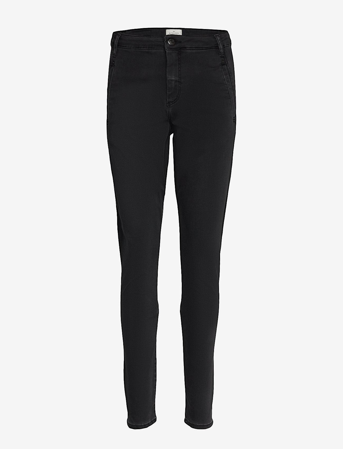 FIVEUNITS - Jolie 473 - slim jeans - fall black - 0