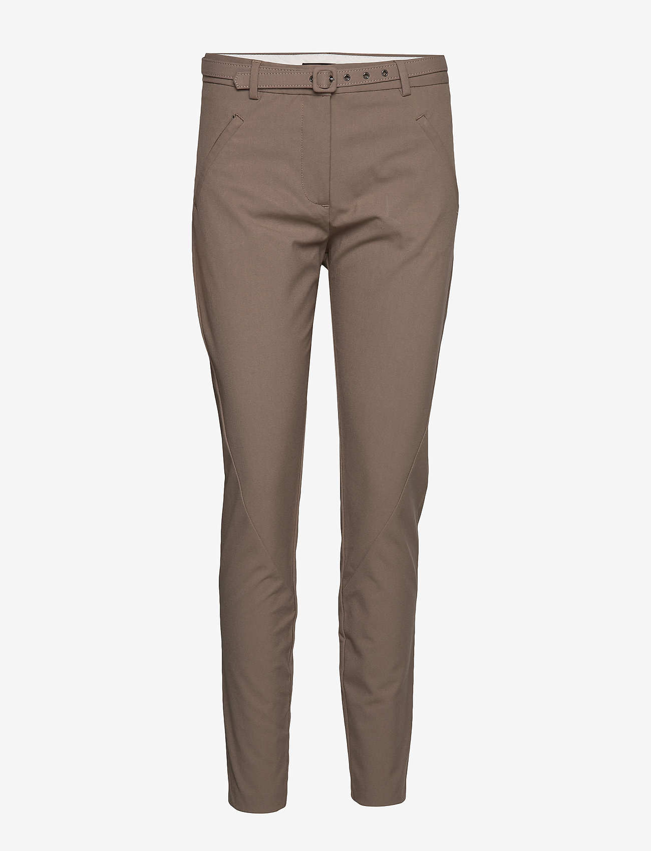 FIVEUNITS - Angelie 225 Belted - broeken med skinny fit - walnut slim - 0