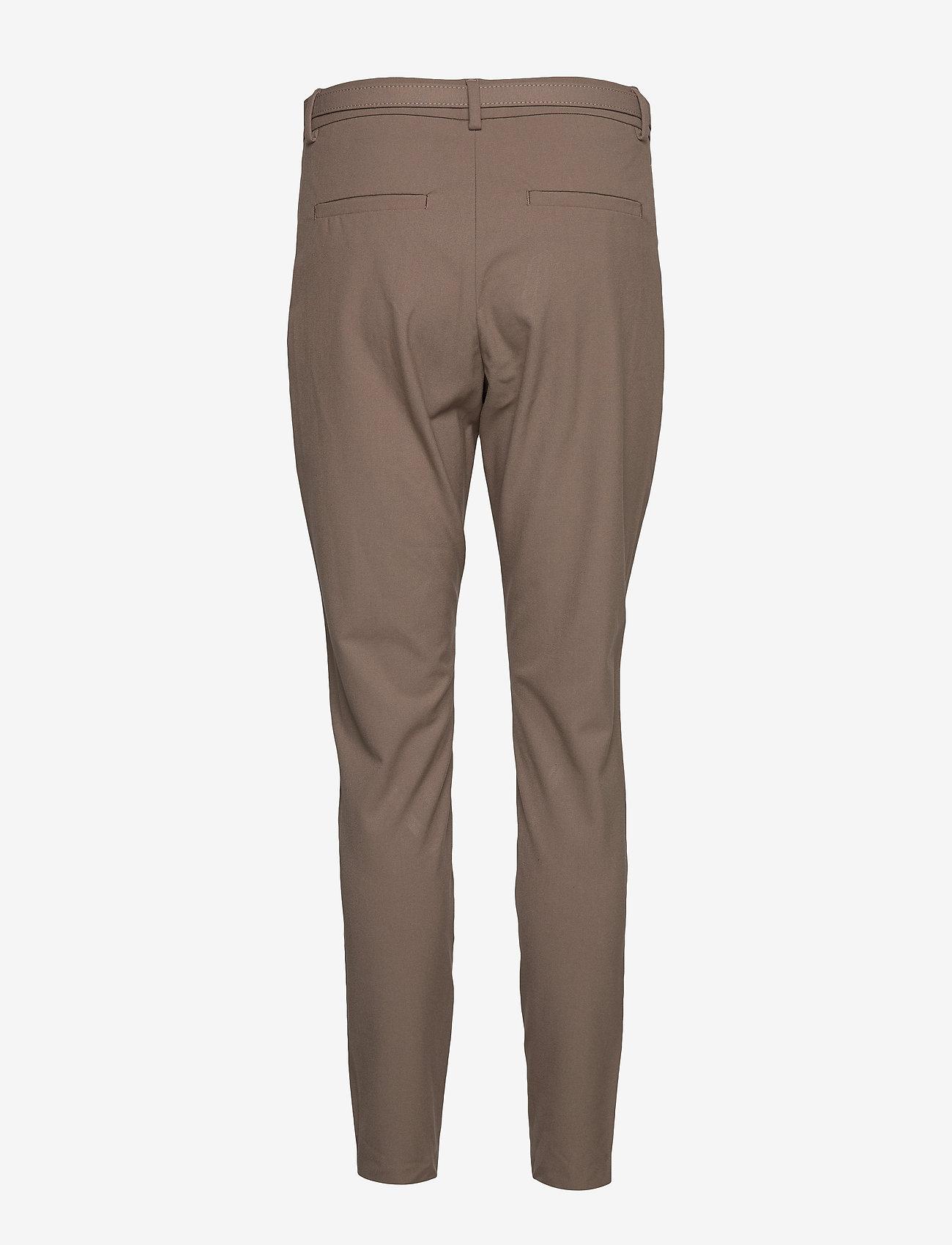 FIVEUNITS - Angelie 225 Belted - broeken med skinny fit - walnut slim - 1