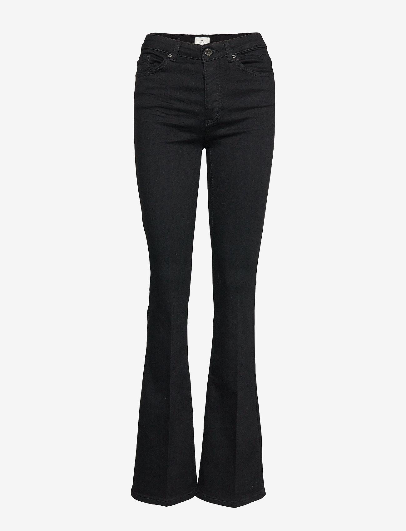 FIVEUNITS - Naomi 241 Black Auto Jeans - schlaghosen - black auto - 1