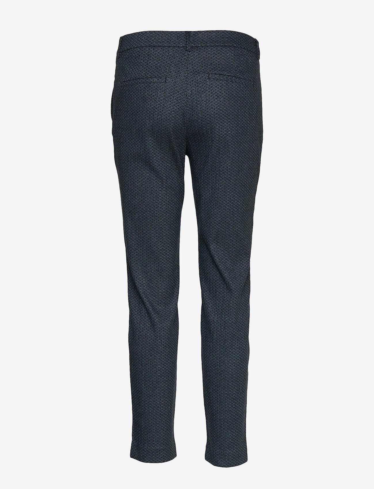 FIVEUNITS - Kylie 617 Crop - pantalons droits - navy dawny - 1