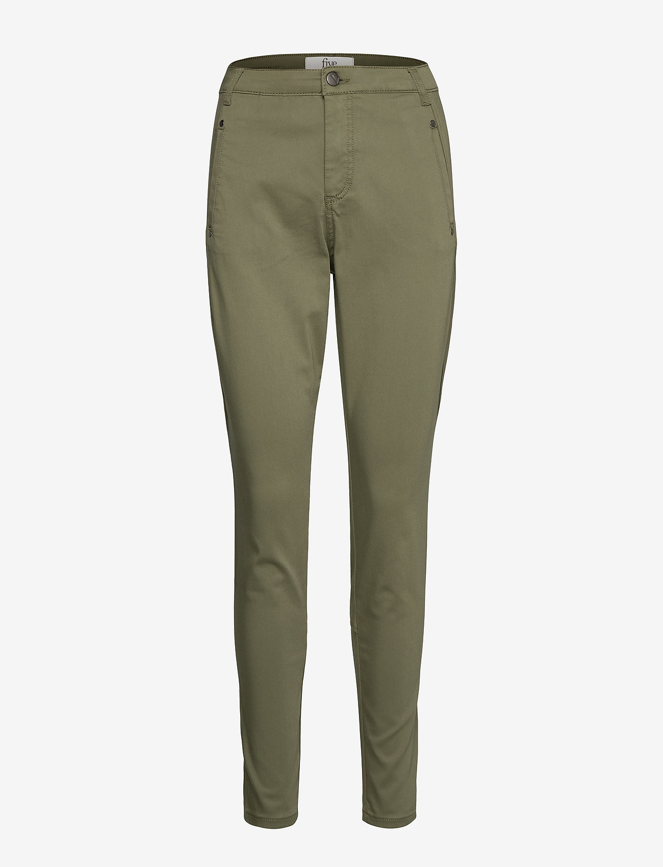 FIVEUNITS - Jolie 606 - broeken med skinny fit - lichen green - 0