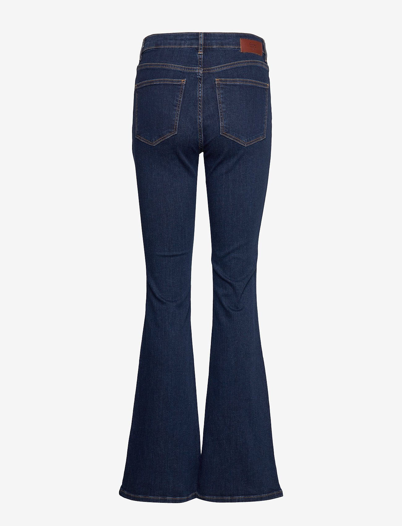 FIVEUNITS - Naomi 595 - utsvängda jeans - dark recycled - 1