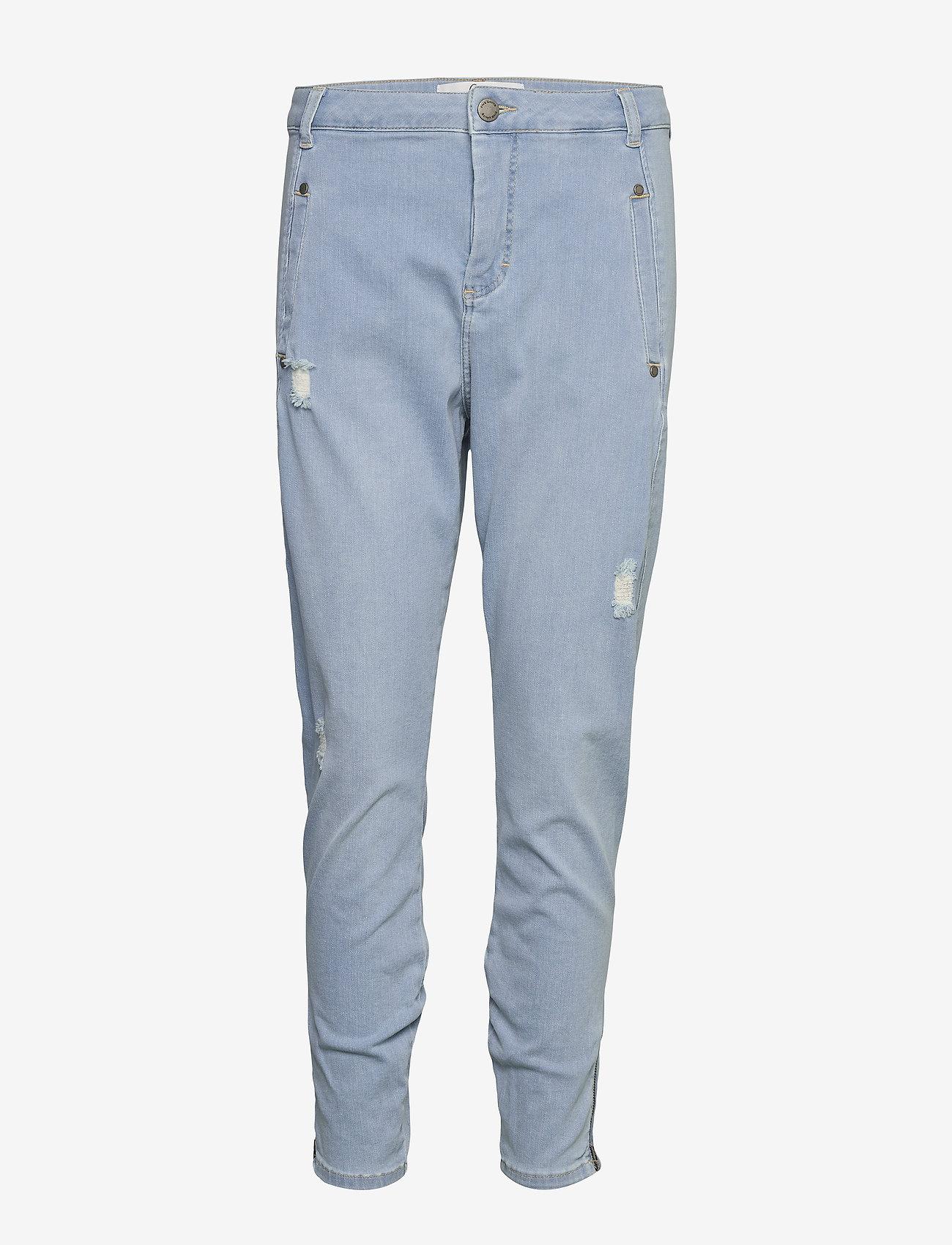 FIVEUNITS - Jolie 455 Zip - dżinsy chłopaka - steel blue raini - 0