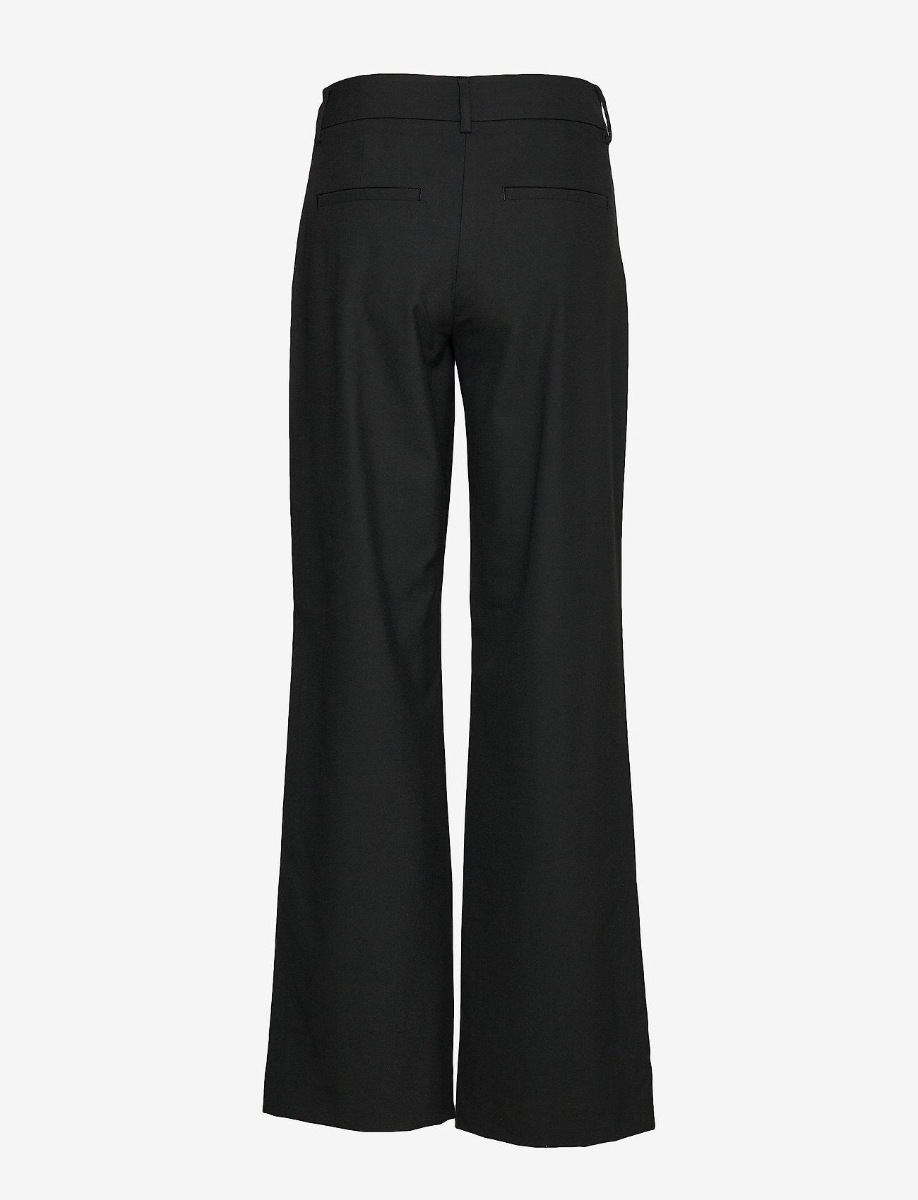 FIVEUNITS - Dena 285 Black Glow - bukser med brede ben - black glow - 1