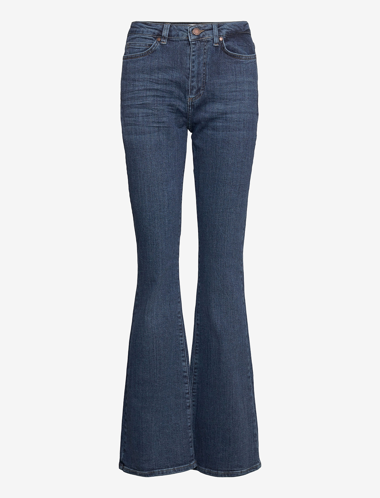 FIVEUNITS - Naomi 241 - utsvängda jeans - illusion blue auto - 0