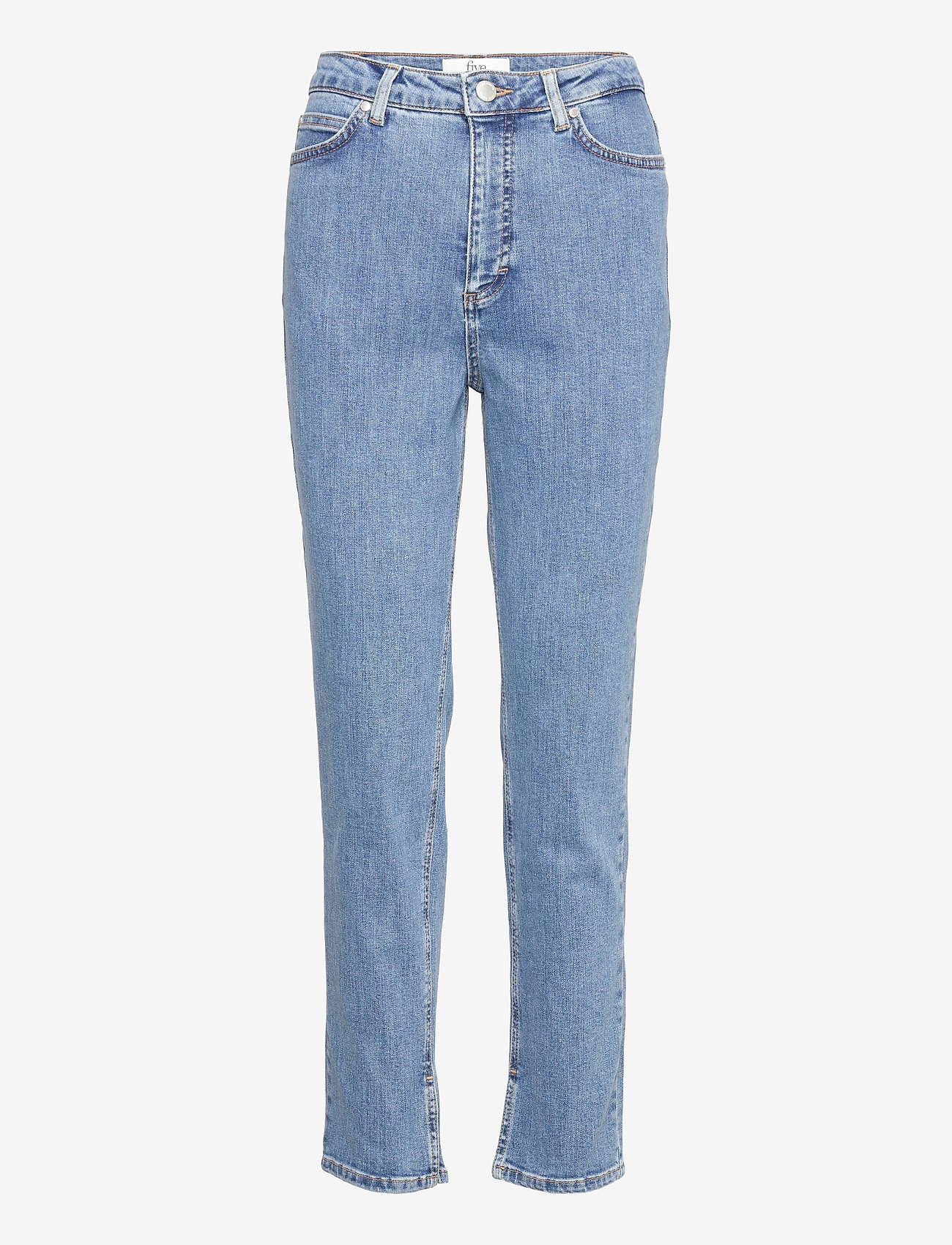 FIVEUNITS - Katelyn Ankle Split 241 - straight jeans - wave blue - 0