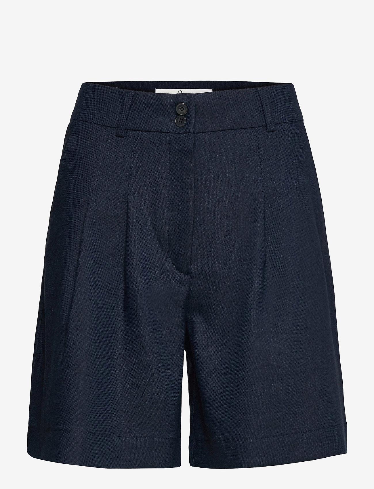 FIVEUNITS - Karen Shorts 769 - chino shorts - navy - 1