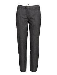 Kylie 572 Crop, Light Grey Stripy, Pants - LIGHT GREY  STRIPY