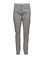 Angelie 225 Dusty Grey Slim, Pants - DUSTY GREY SLIM