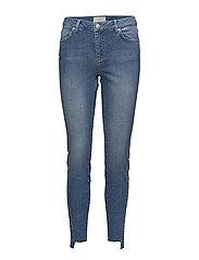 Penelope 664 Frame, Atlanta Mid Blue, Jeans - ATLANTA MID BLUE