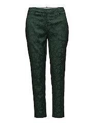 Kylie 325 Crop - SATEEN GREEN JACQUARD