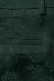 FIVEUNITS - Kylie 325 - slim fit-byxor - sateen green jacquard - 4
