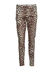 Angelie 606 Leopard, Pants - LEOPARD