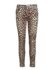 Kate 606 Leopard, Pants - LEOPARD