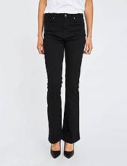 FIVEUNITS - Naomi 241 Black Auto Jeans - schlaghosen - black auto - 0
