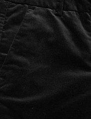 FIVEUNITS - Clara 641 Long - vida byxor - black velvo - 2