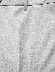 FIVEUNITS - Clara Crop 721 - raka byxor - grey melange - 4