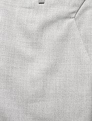 FIVEUNITS - Kylie Crop 721 - raka byxor - grey melange - 2