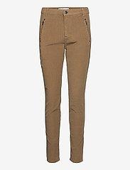 FIVEUNITS - Jolie 969 - slim fit-byxor - khaki cord - 0
