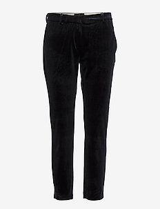 Kylie 730 Crop, Navy Velvet, Pants - NAVY